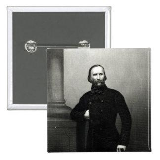 Portrait of Giuseppe Garibaldi Button