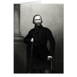 Portrait of Giuseppe Garibaldi Greeting Card