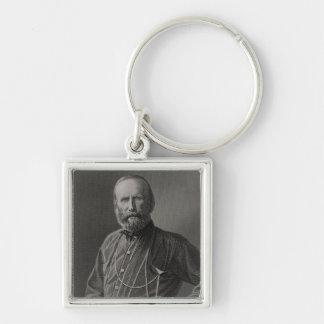 Portrait of Giuseppe Garibaldi Keychains