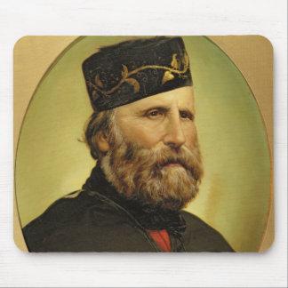 Portrait of Giuseppe Garibaldi Mouse Pad