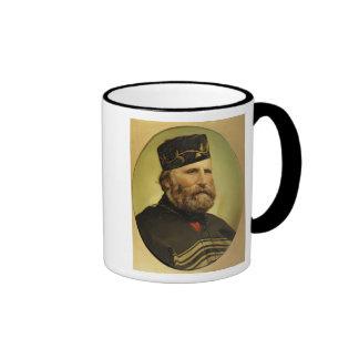Portrait of Giuseppe Garibaldi Ringer Coffee Mug