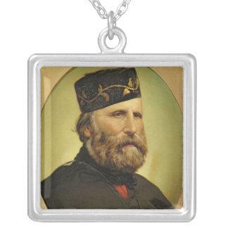 Portrait of Giuseppe Garibaldi Necklace