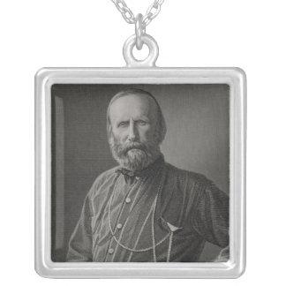 Portrait of Giuseppe Garibaldi Personalized Necklace