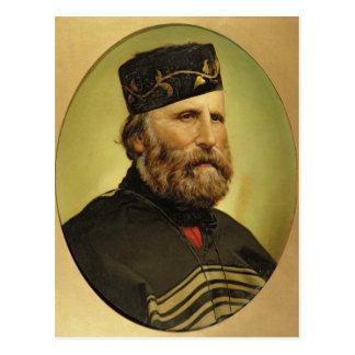 Portrait of Giuseppe Garibaldi Postcard