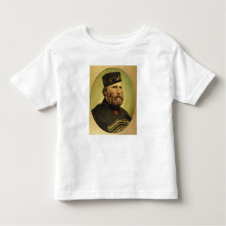 Portrait of Giuseppe Garibaldi Toddler T-shirt