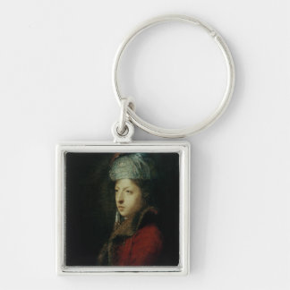 Portrait of Giuseppe Marchi  1753 Keychain