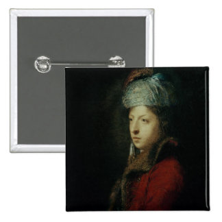 Portrait of Giuseppe Marchi  1753 Pinback Button