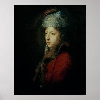 Portrait of Giuseppe Marchi  1753 Poster