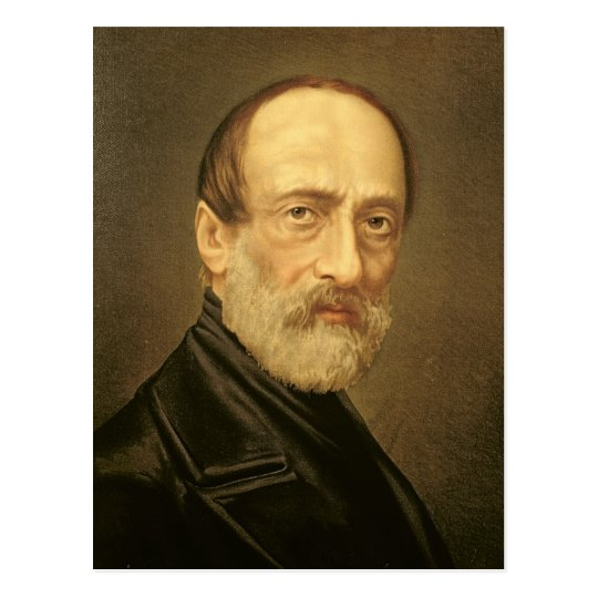 Portrait of Giuseppe Mazzini Postcard