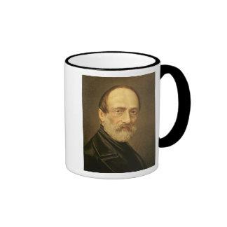Portrait of Giuseppe Mazzini Ringer Mug