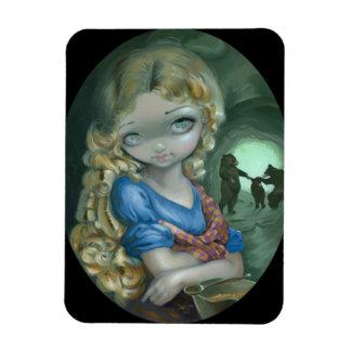 """Portrait of Goldilocks"" Flex Magnet"