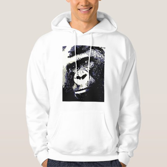 Portrait of Gorilla Hoodie - Gorillas Shirts