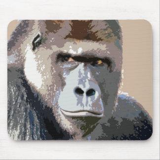 Portrait of Gorilla Mouse Pad