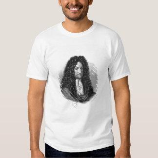 Portrait of Gottfried Wilhelm  Baron de Leibniz Shirts