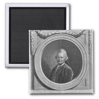 Portrait of Gotthold Ephraim Lessing Magnet