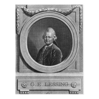 Portrait of Gotthold Ephraim Lessing Postcard