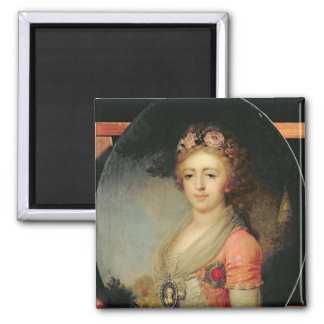 Portrait of Grand Duchess Alexandra, c.1798 Magnet