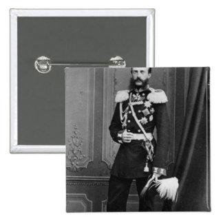 Portrait of Grand Duke Michael Nikolaevich 2 Inch Square Button