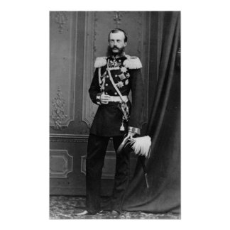Portrait of Grand Duke Michael Nikolaevich Poster