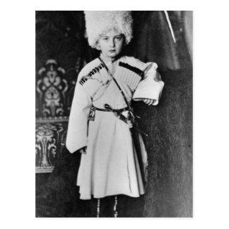 Portrait of Grand Duke Nicholas Mikhailovich Postcard