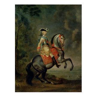 Portrait of Grand Duke Peter III Postcard