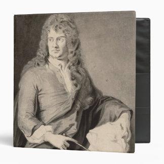 Portrait of Grinling Gibbons (1648-1721) (w/c on p 3 Ring Binder