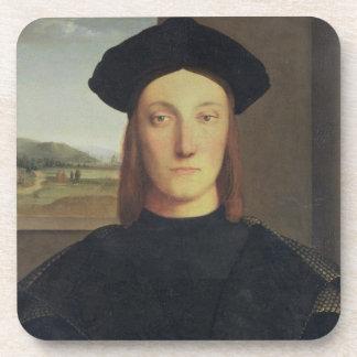 Portrait of Guidobaldo da Montefeltro, Duke of Urb Coaster