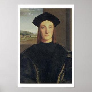 Portrait of Guidobaldo da Montefeltro, Duke of Urb Poster