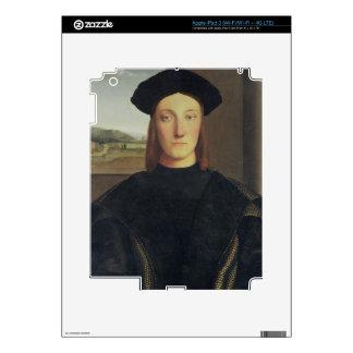 Portrait of Guidobaldo da Montefeltro, Duke of Urb Skins For iPad 3