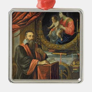 Portrait of Guillaume de Vair Christmas Tree Ornament