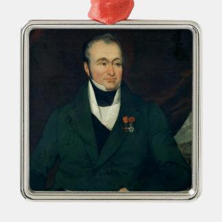 Portrait of Guillaume Dupuytren Ornament