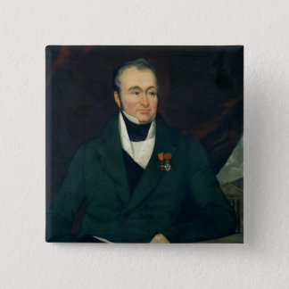 Portrait of Guillaume Dupuytren Pinback Button