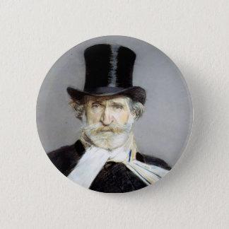 Portrait of Guiseppe Verdi by Giovanni Boldini Button