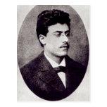 Portrait of Gustav Mahler, 1878 Postcard