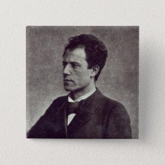Portrait of Gustav Mahler, 1897 Pinback Button
