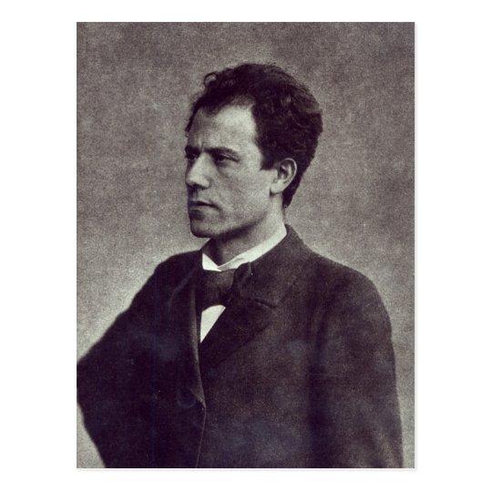 Portrait of Gustav Mahler, 1897 Postcard
