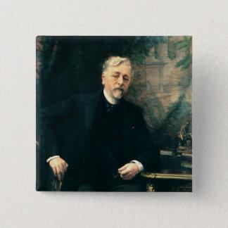 Portrait of Gustave Eiffel  1905 Button