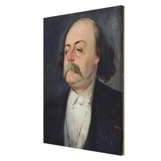 Portrait of Gustave Flaubert  1868-81 Canvas Print