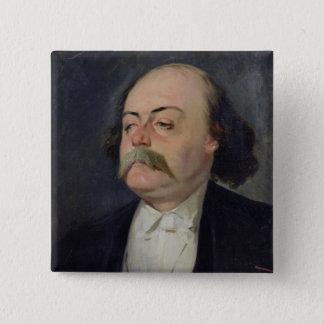 Portrait of Gustave Flaubert  1868-81 Pinback Button