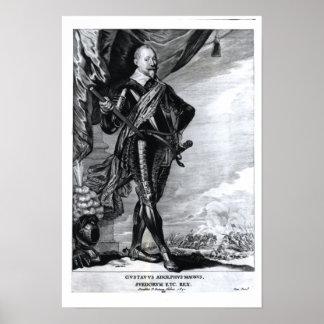 Portrait of Gustavus Adolphus the Great Poster