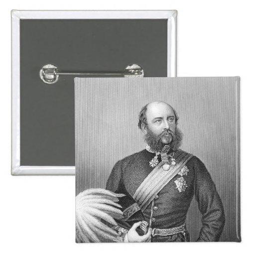 Portrait of H.R.H. The Duke of Cambridge 2 Inch Square Button