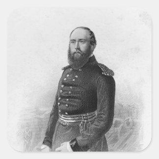 Portrait of H.R.H. The Duke of Cambridge Square Sticker