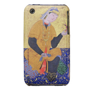 Portrait of Hamida Banu Begum, holding a seal, ill iPhone 3 Cases