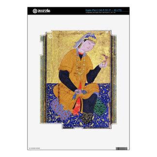 Portrait of Hamida Banu Begum, holding a seal, ill iPad 3 Skins