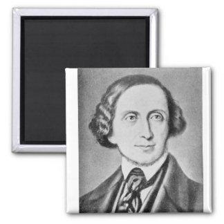 Portrait of Hans Christian Andersen 2 Magnet