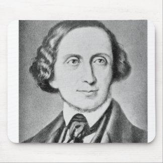 Portrait of Hans Christian Andersen 2 Mouse Pad