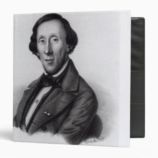 Portrait of Hans Christian Andersen Binder