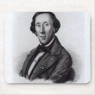 Portrait of Hans Christian Andersen Mouse Pad