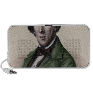 Portrait of Hans Christian Andersen Notebook Speaker