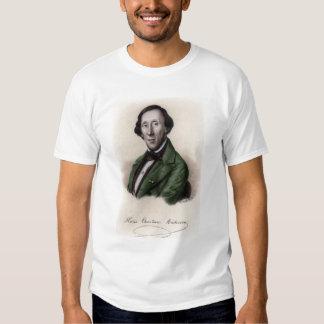 Portrait of Hans Christian Andersen Shirts